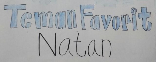 DIY Big Book : Teman Favorit Natan